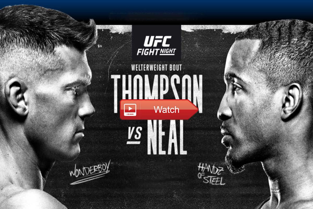 UFC Fight Night 183 live stream reddit