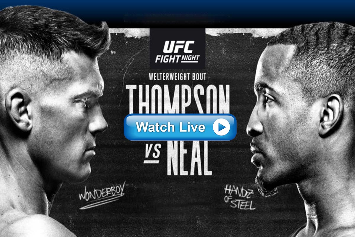 UFC Fight Night 183 live streaming Reddit