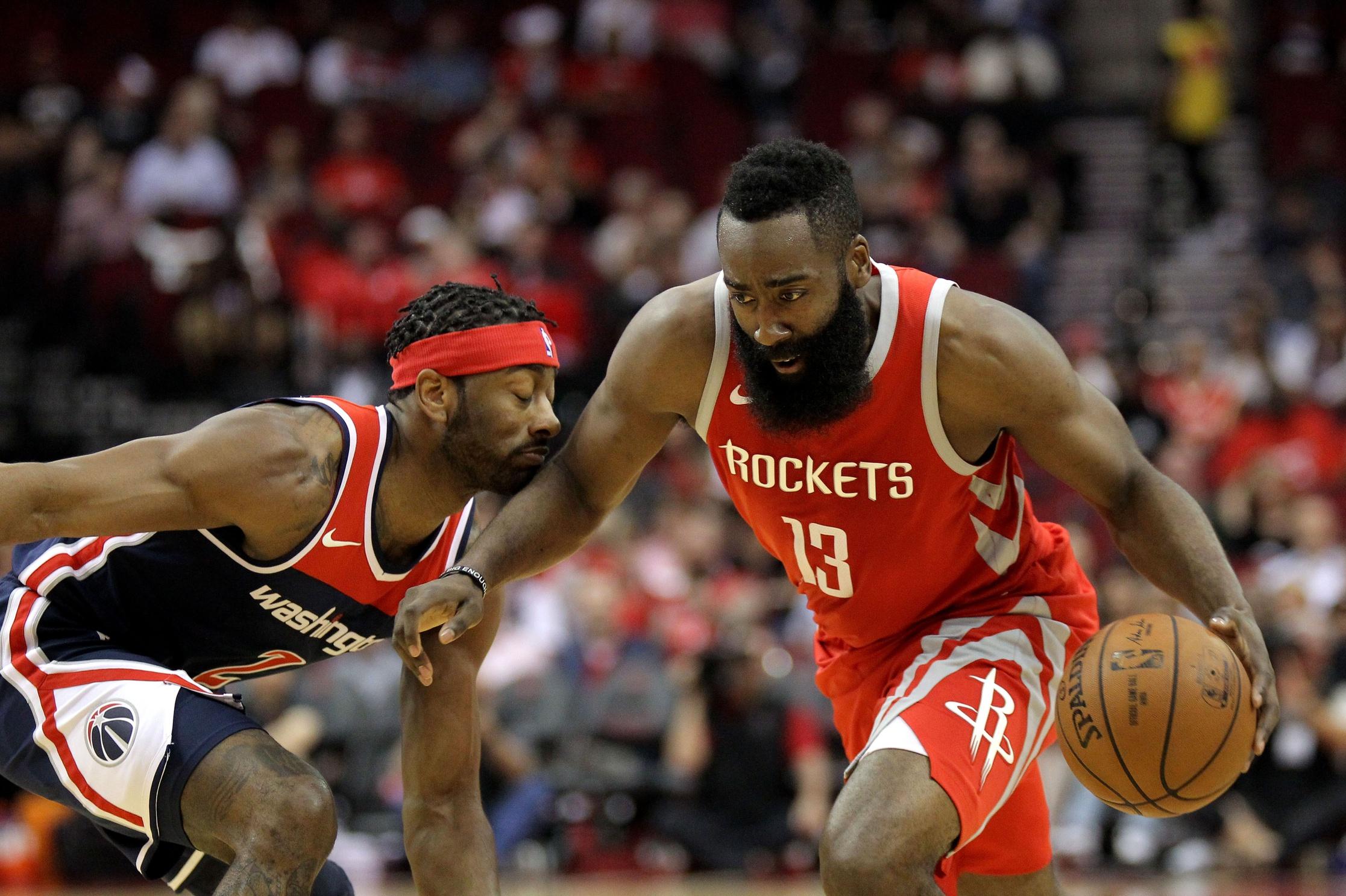 Could John Wall help Rockets keep James Harden happy?