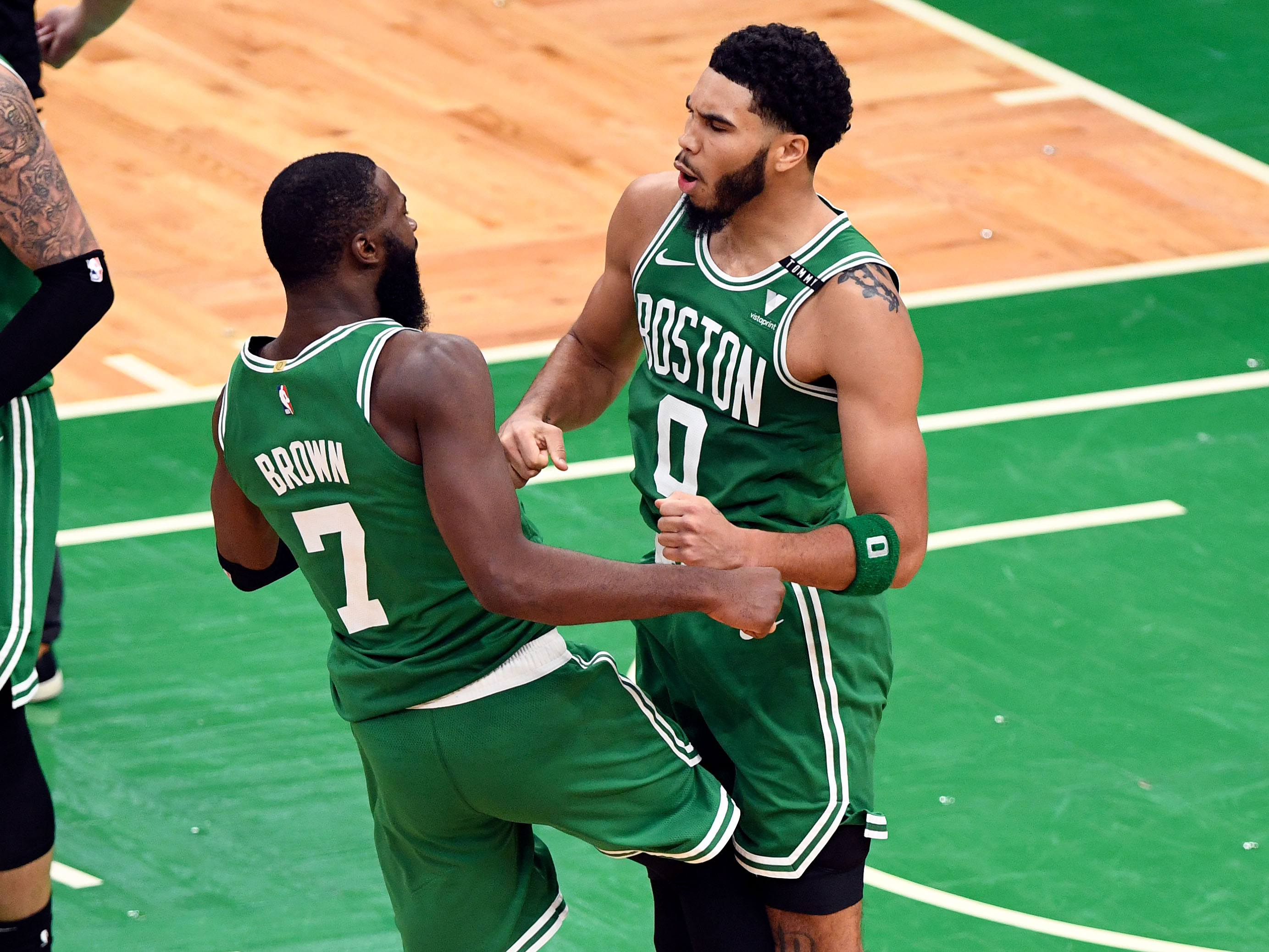 Was Jayson Tatum trying to bank home winning 3-pointer? 'Nah, I ain't try to'