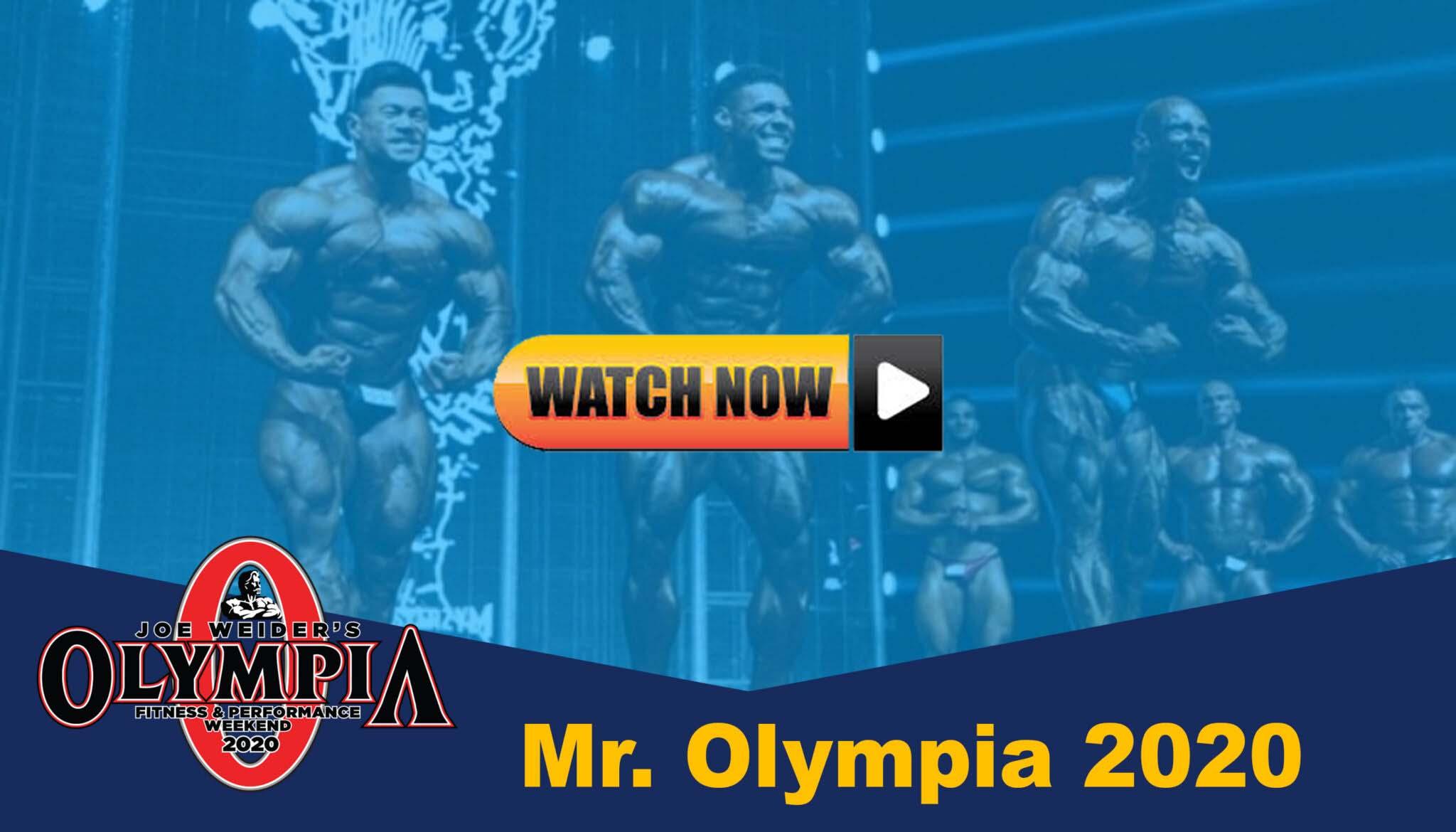 Mr. Olympia Live Stream