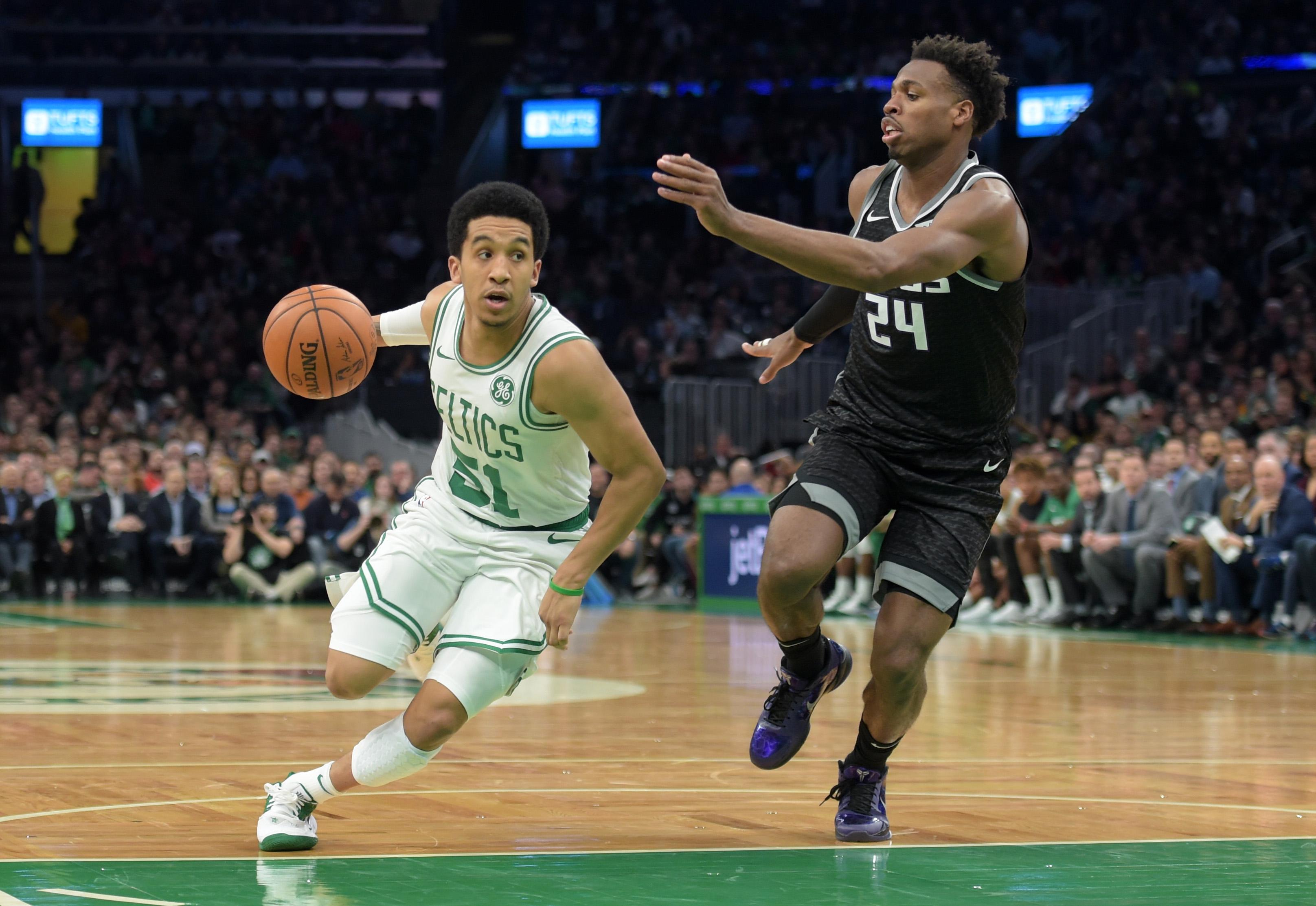 Boston Celtics practice report: Tristan Thompson progresses, Tremont Waters stays ready