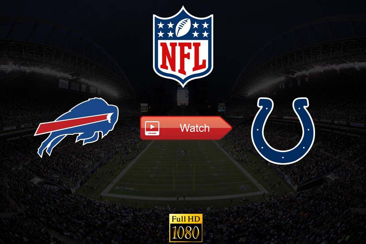 Bills vs Colts live stream reddit