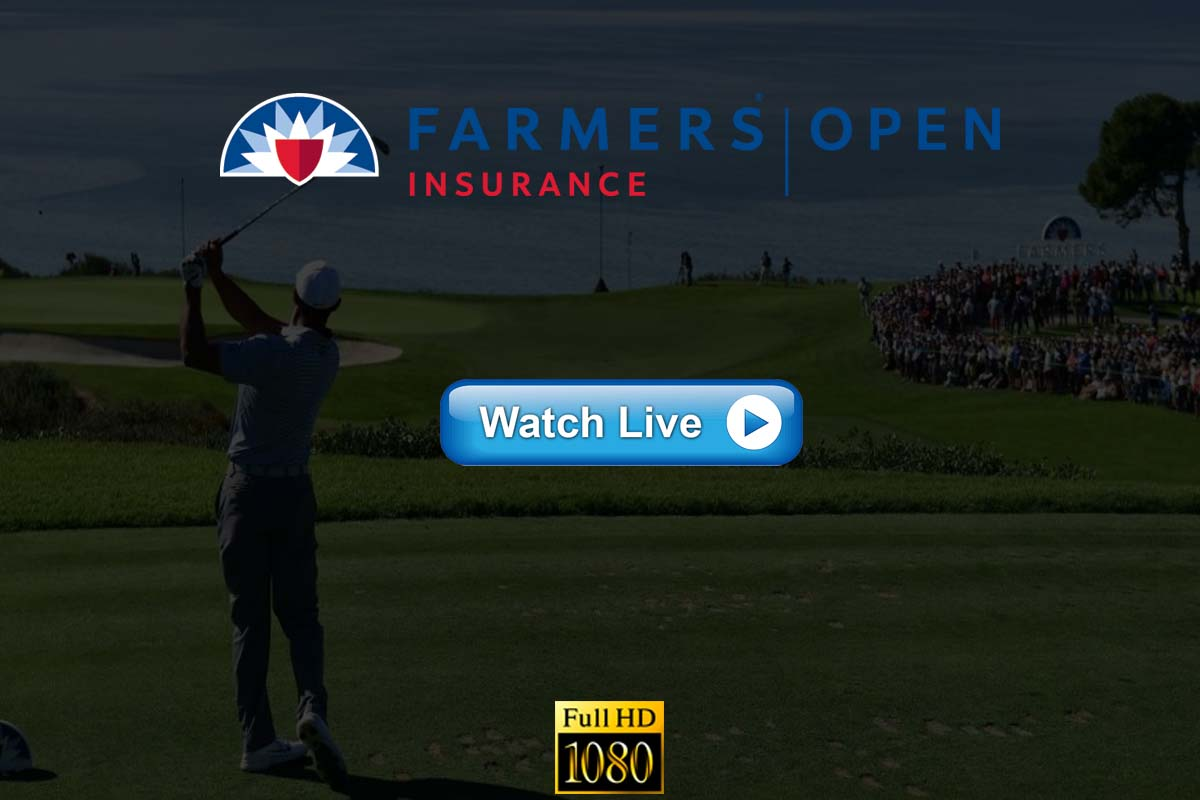 Farmers Insurance Open live streaming