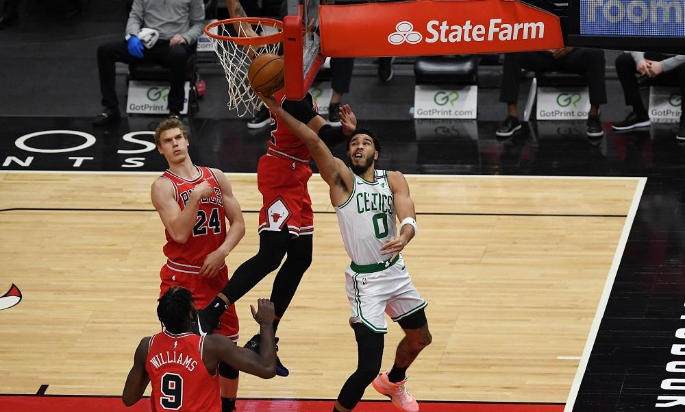 Rapid Recap: Celtics corral Bulls 119-103 as Tatum returns and Jays combine for 50