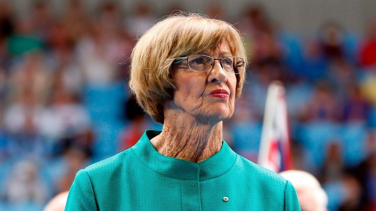 Tennis legend Margaret Court receives the Order of Australia