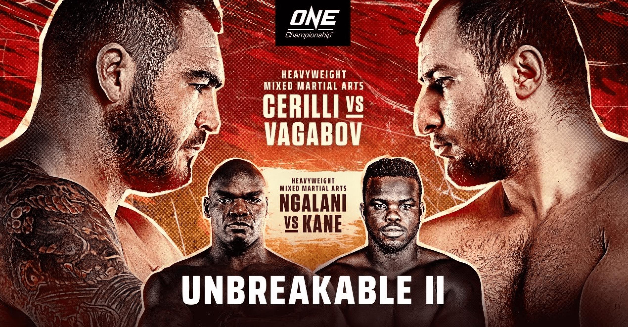 ONE: Unbreakable II Results, Recap & Video