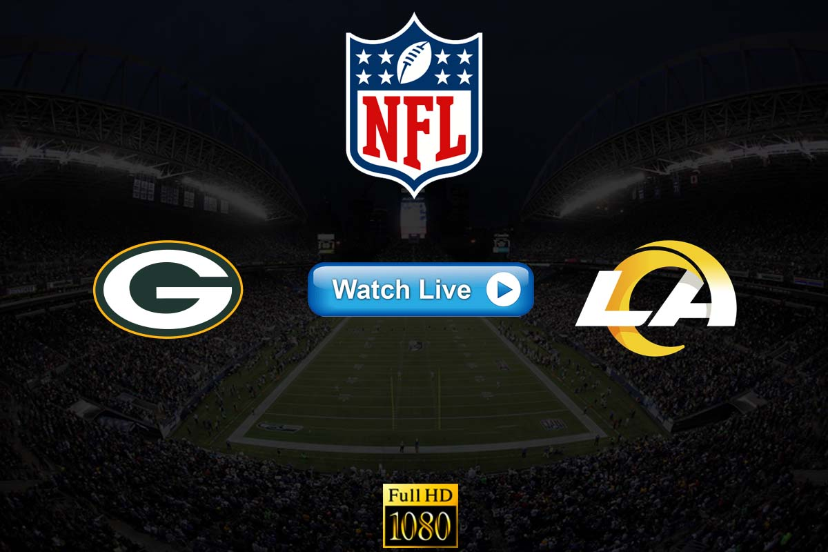 Packers vs Rams live streaming