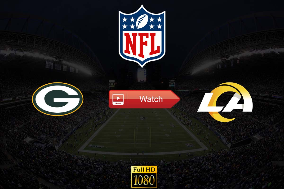 Packers vs Rams live stream