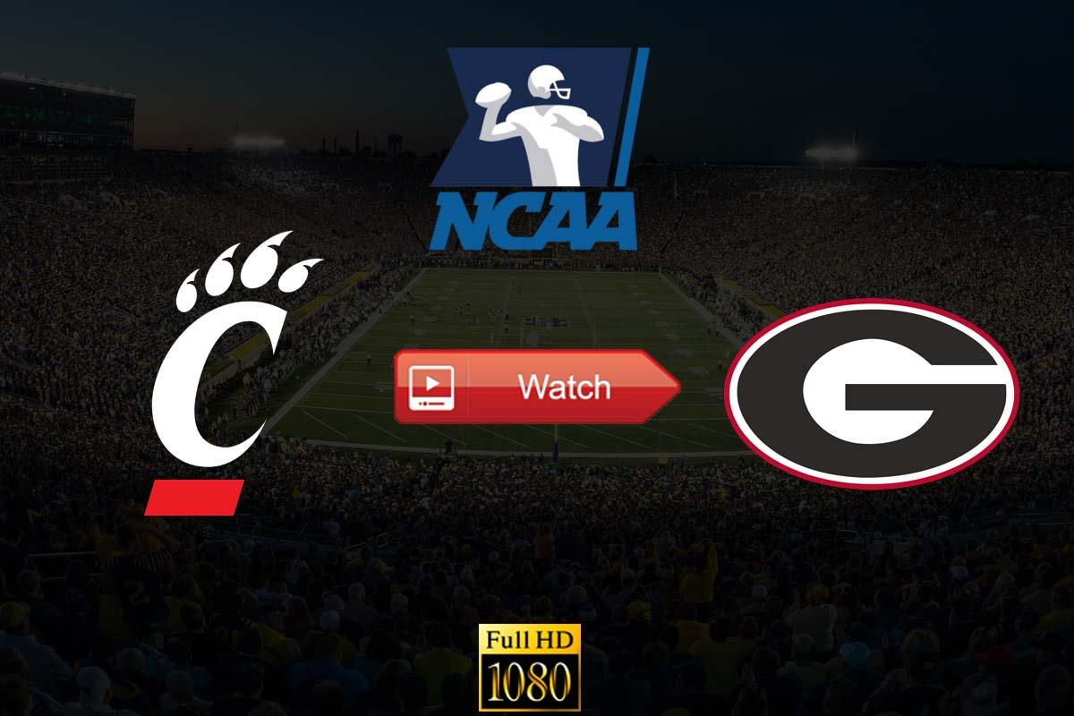 Peach Bowl Cincinnati vs Georgia live stream