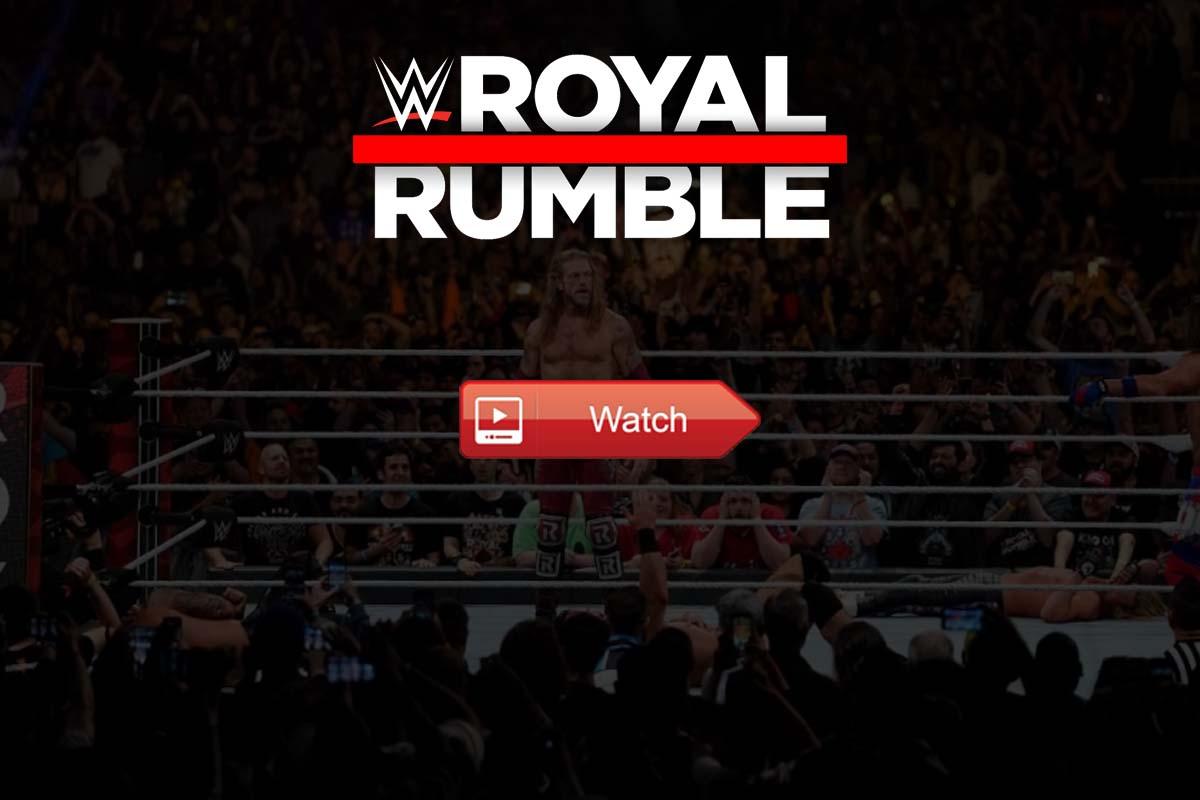Royal Rumble live stream Reddit