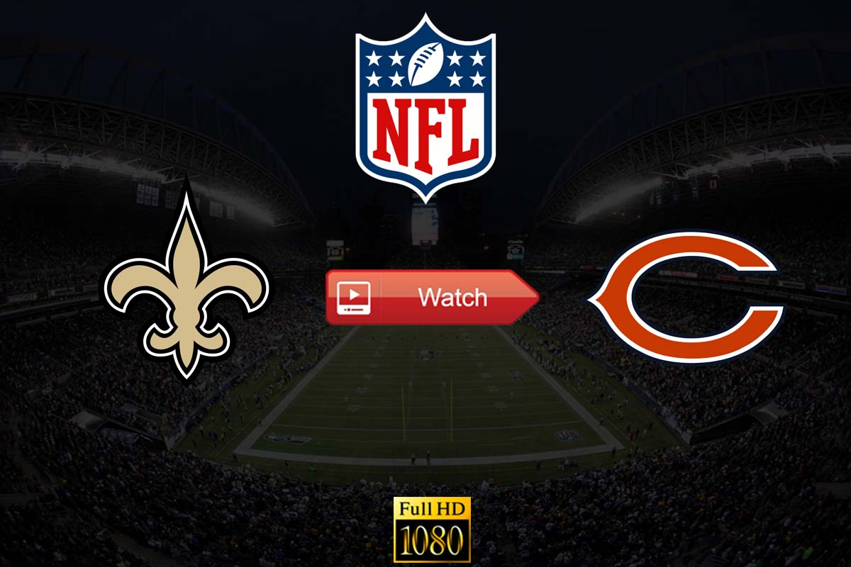 HD Crackstreams Saints vs Bears Live Stream Reddit Free NFL: Watch Bears vs Saints Online Twitter Buffstreams, Youtube, Time, Date, Venue and Schedule for Sunday Night Football