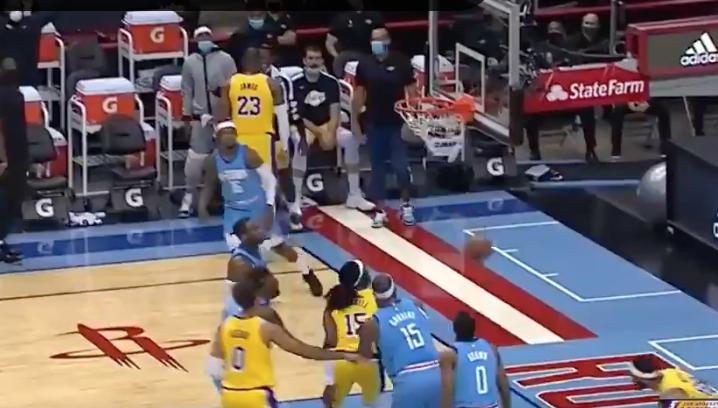 LeBron James trolls hard with disrespectful no-look three-pointer (Video)