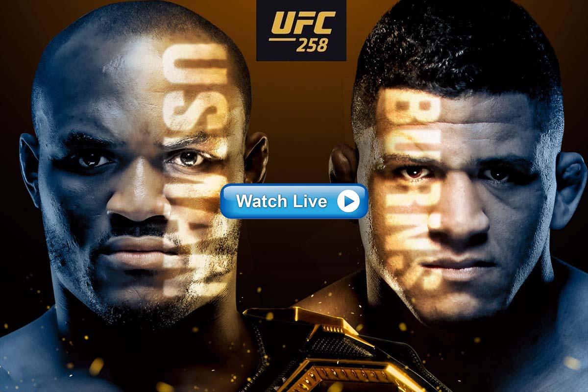 UFC 258 Usman vs Burns live streaming Reddit