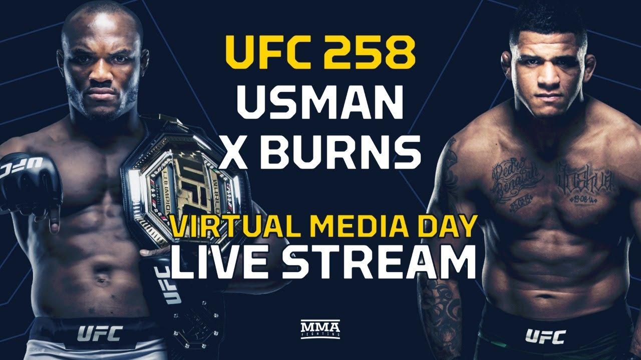 Fight Kamaru Usman Vs Gilbert Burns Live Stream Ufc 258 Online