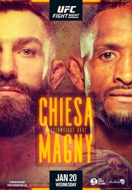UFC Fight Night: Chiesa vs Magny Fight Card