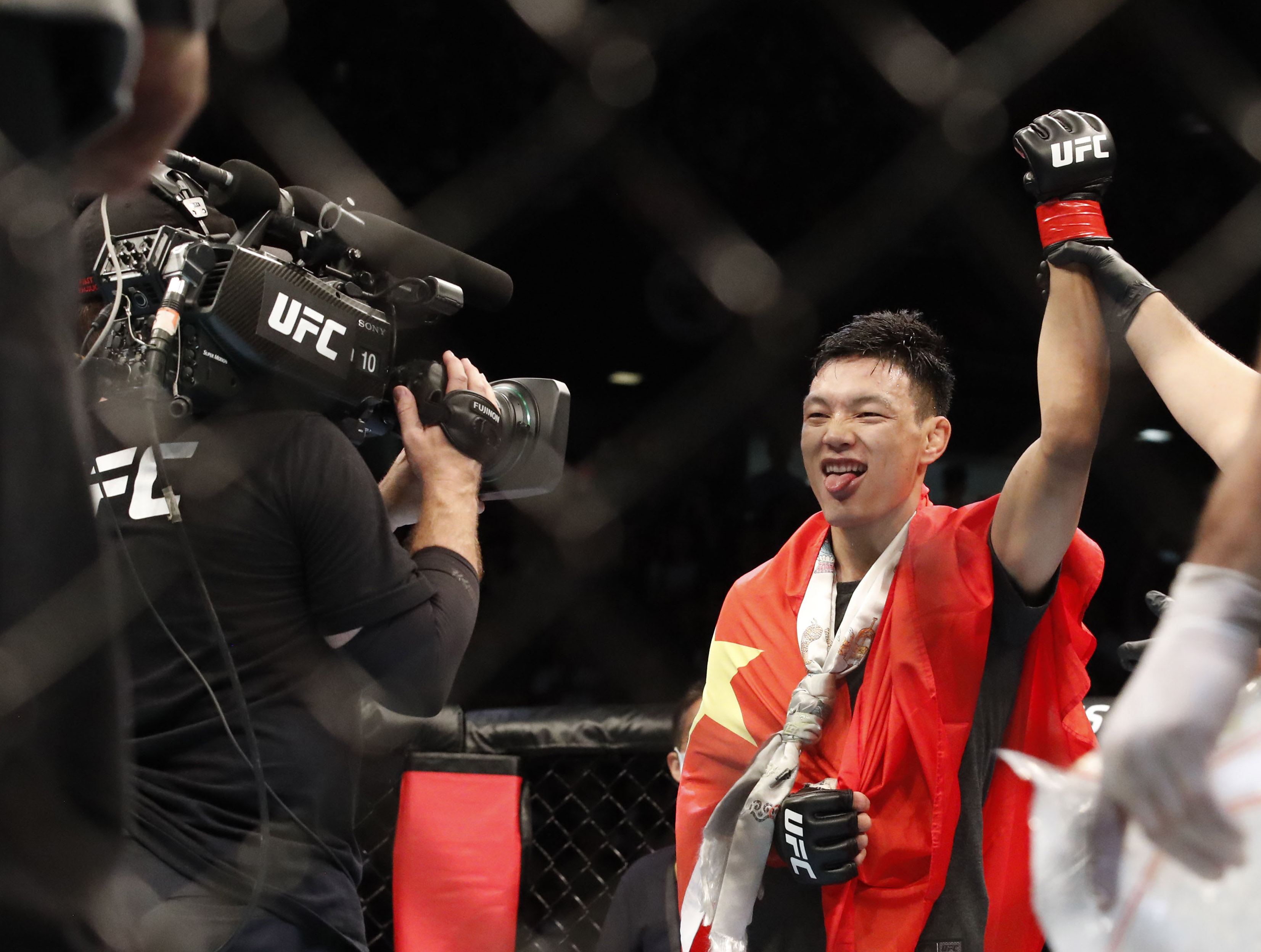 UFC Chiesa vs Magny Prelim Breakout Star: Su Mudaerji