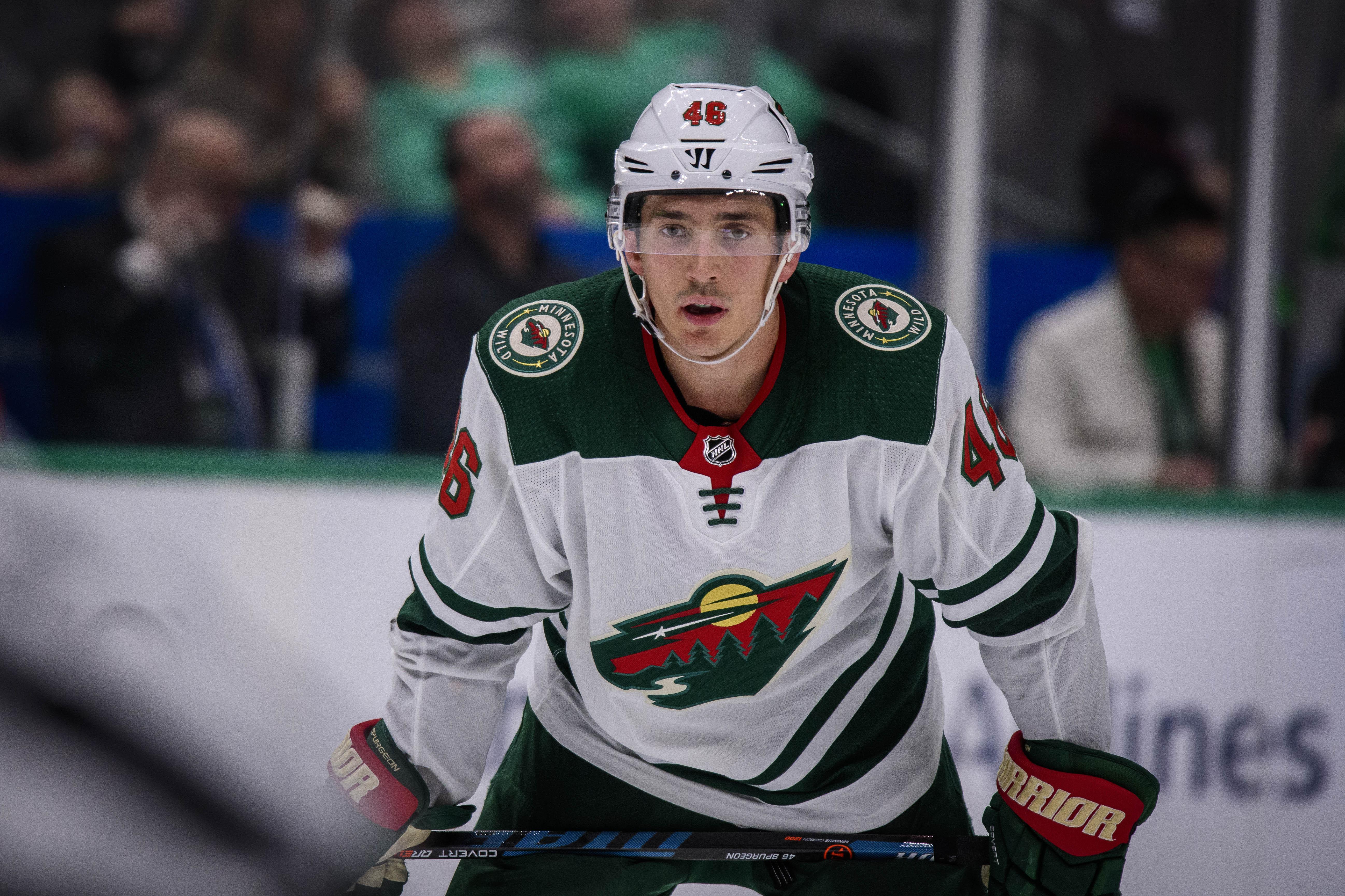 The Minnesota Wild Name Jared Spurgeon Their Team Captain