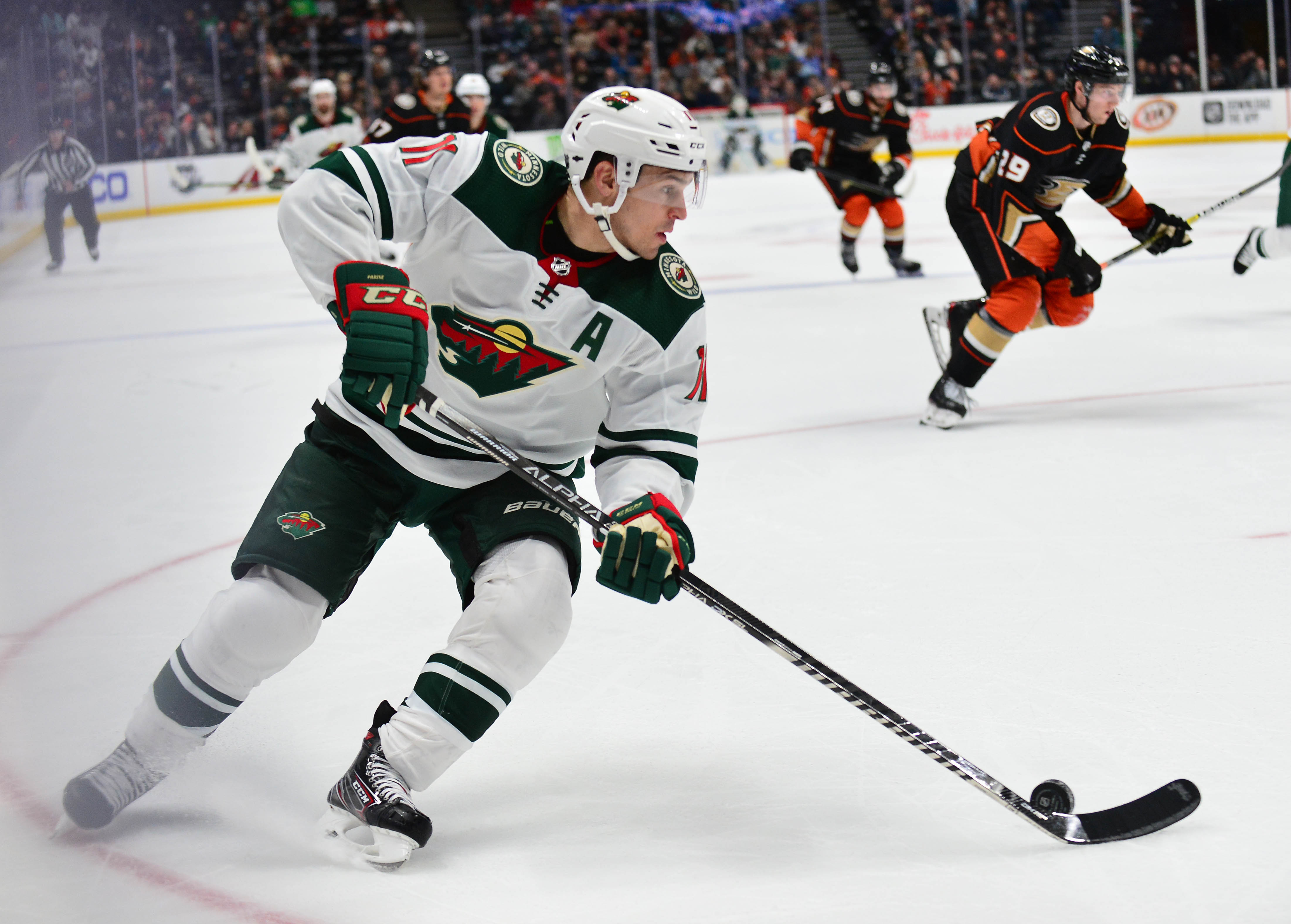 Wild Earn Series Split With Anaheim, Talbot Shows Improvement