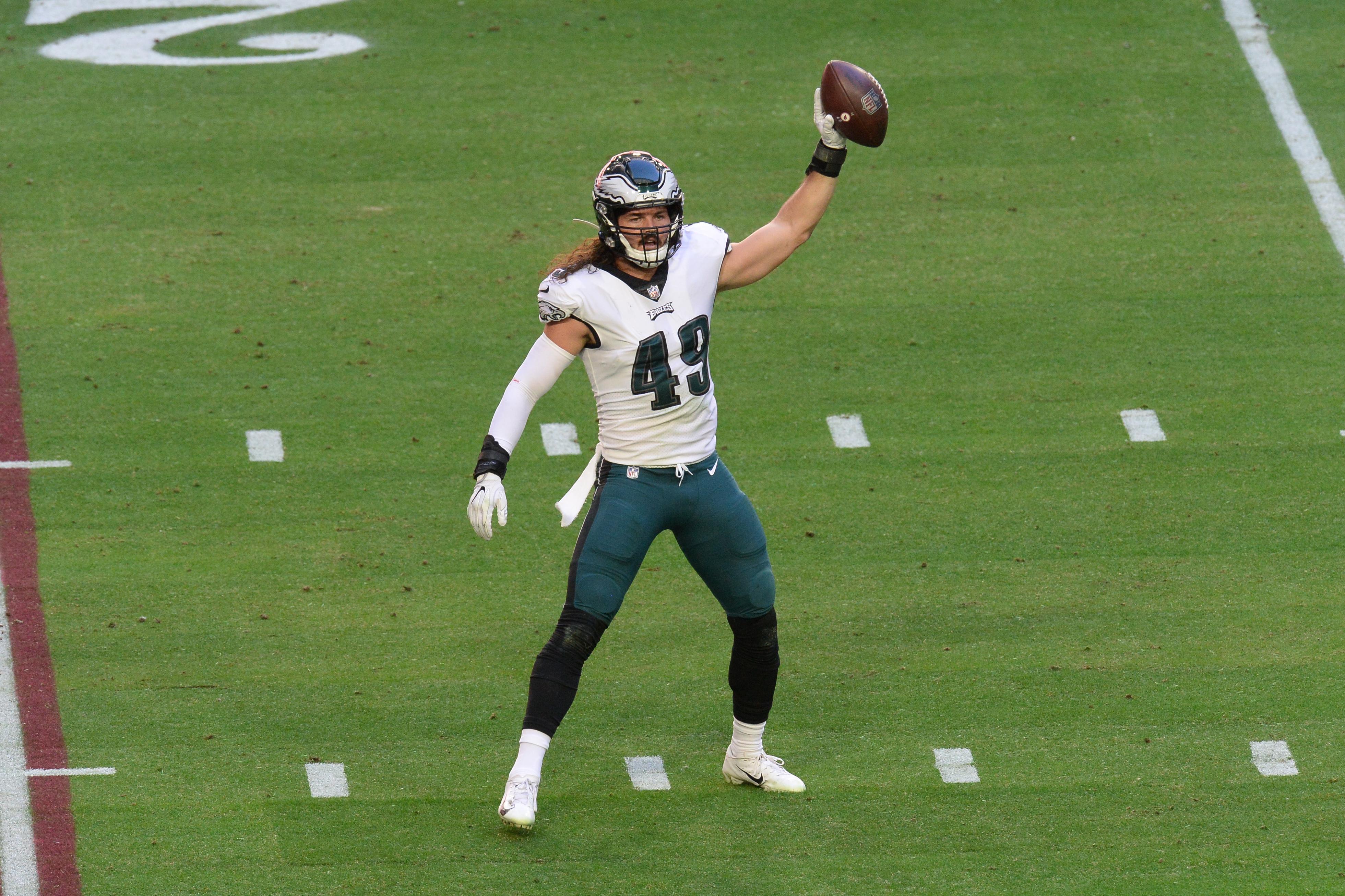 Josh Sweat, Alex Singleton among Eagles players who stood out in 2020 season