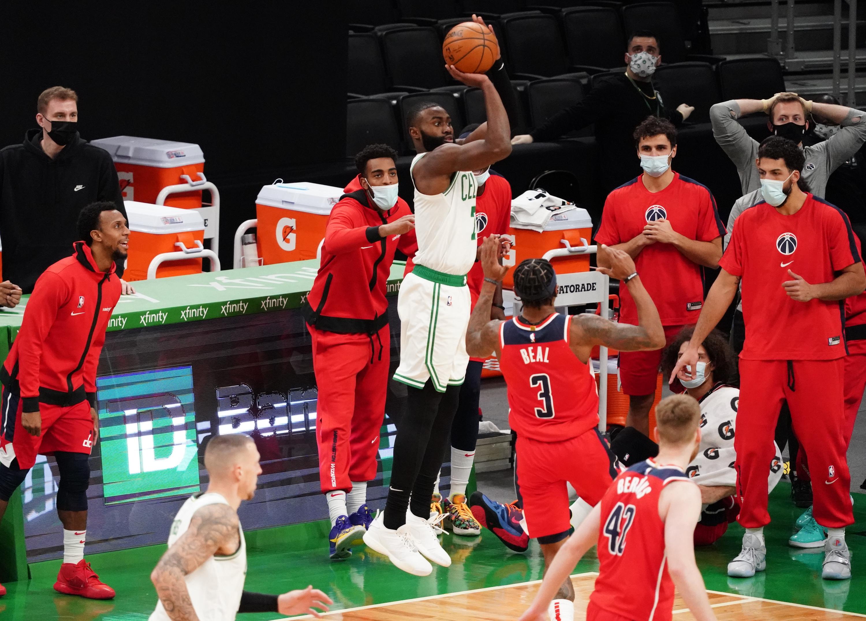 Wizards' comeback attempt falls short against Celtics