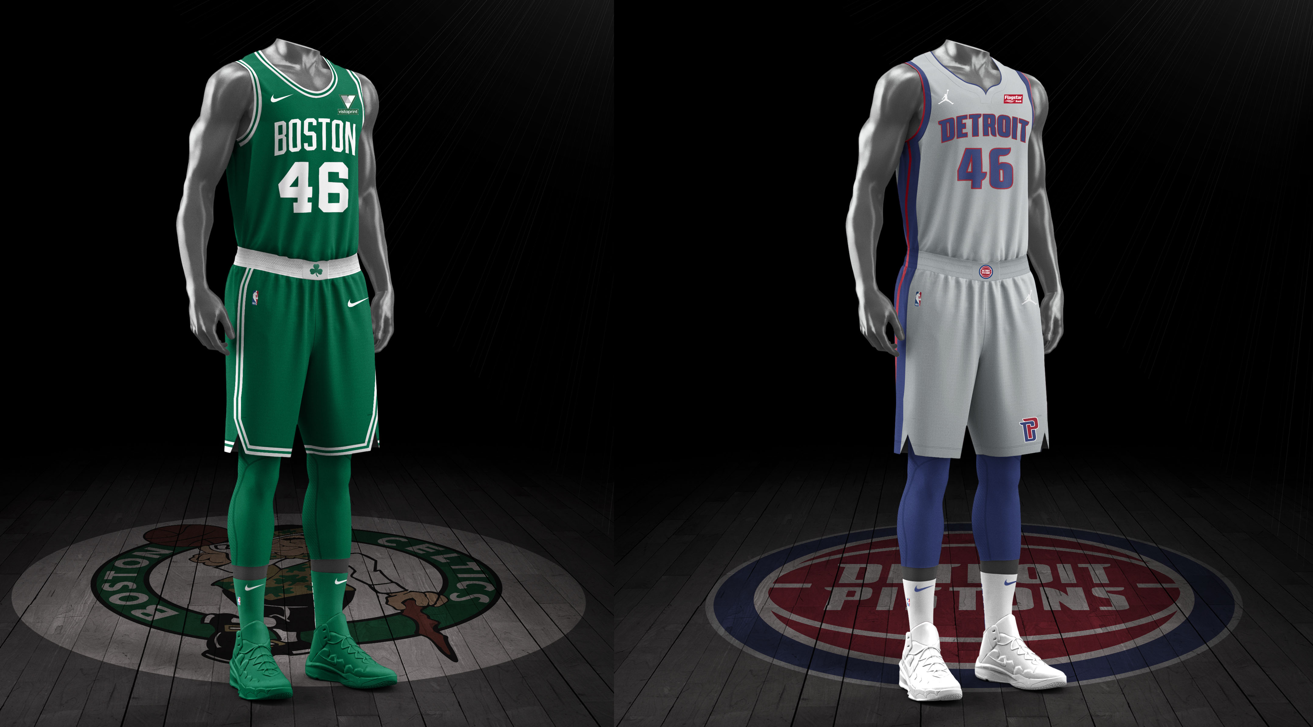 Boston Celtics vs Detroit Pistons preview, officials, uniforms, injuries, odds