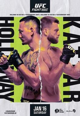 UFC Fight Night: Holloway vs Kattar Fight Card