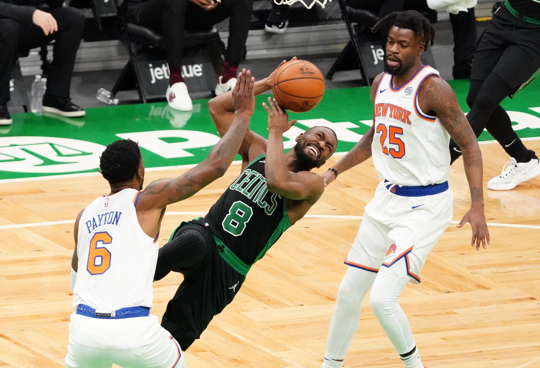 Kemba Walker's knee responds well, Boston Celtics prepare to face Philadelphia 76ers