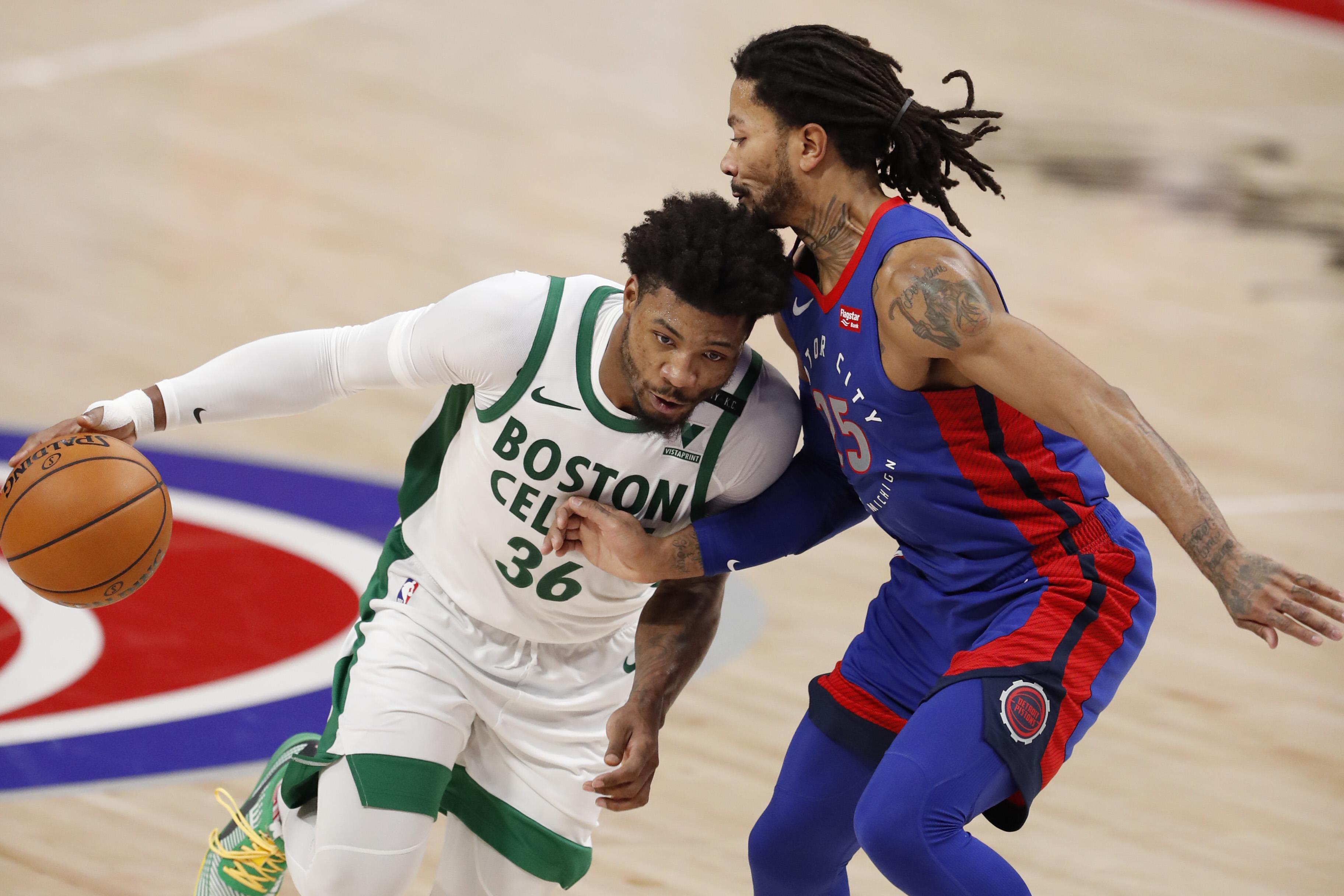 Marcus Smart's steady hand guides Boston Celtics as Jayson Tatum, Jaylen Brown carry scoring load