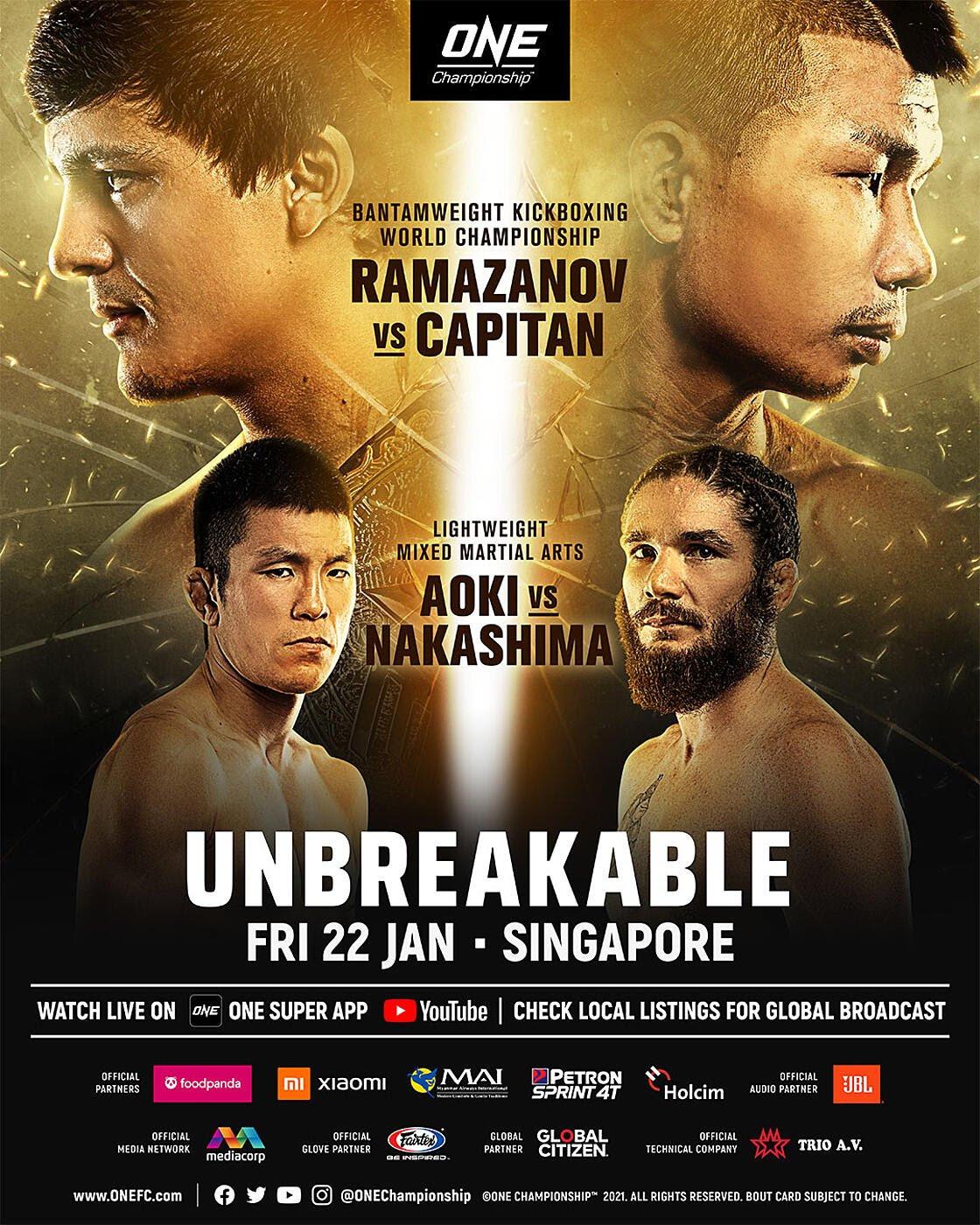 ONE: Unbreakable results & recap