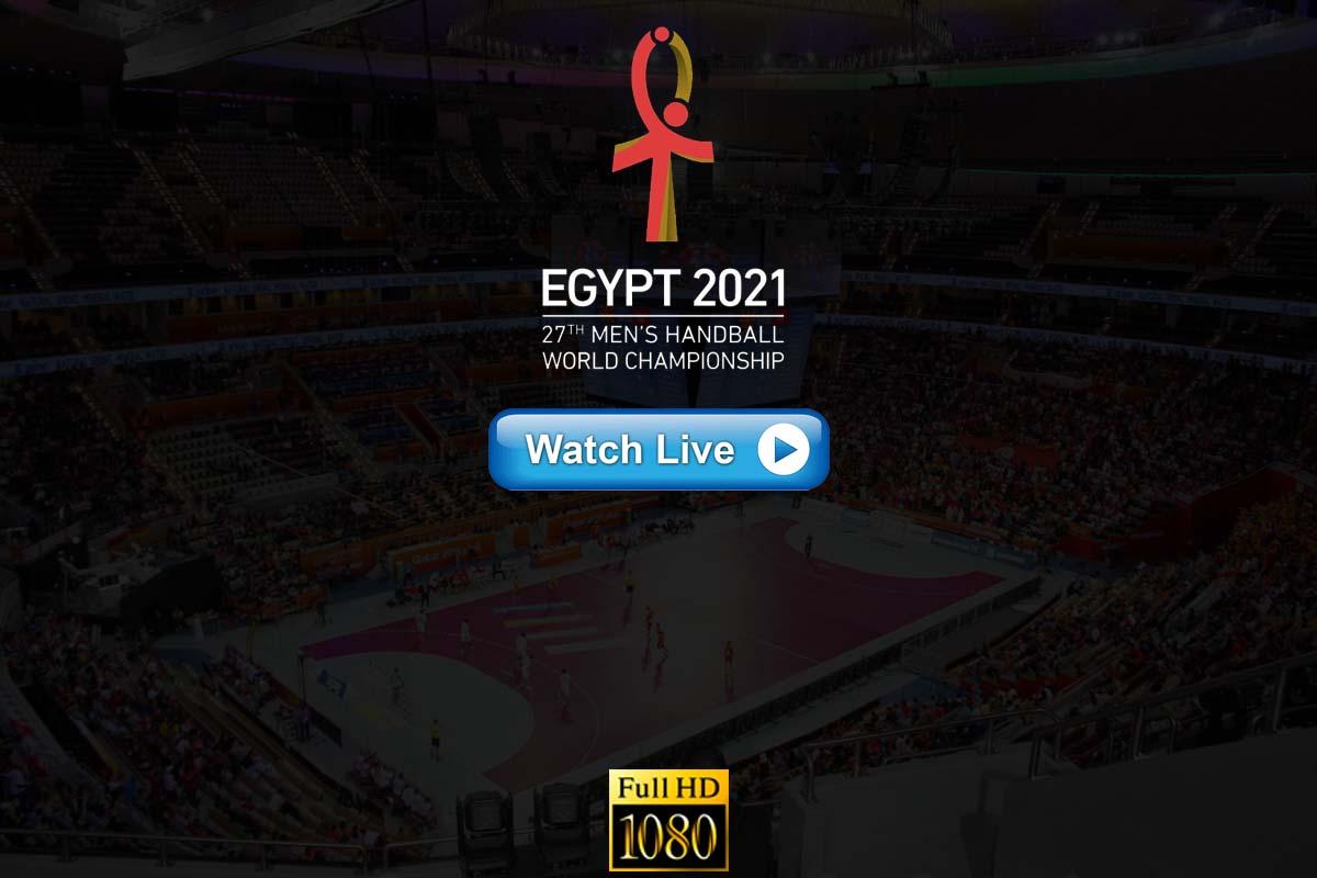 world men's handball championship 2021 live streaming