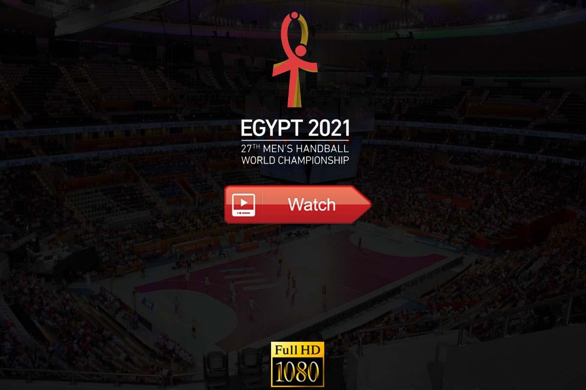 world men's handball championship live stream