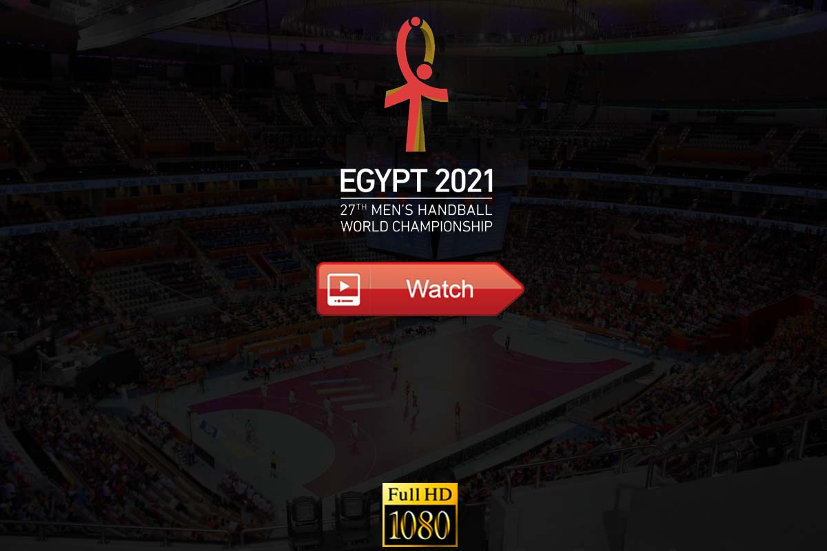 world men's handball championship live stream