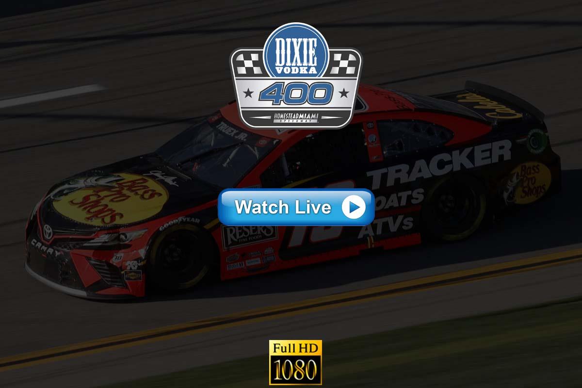 Check Dixie Vodka 400 Live Stream Reddit 2021 - TV Channels, Schedule, VPN Guide, Kodi Guide,
