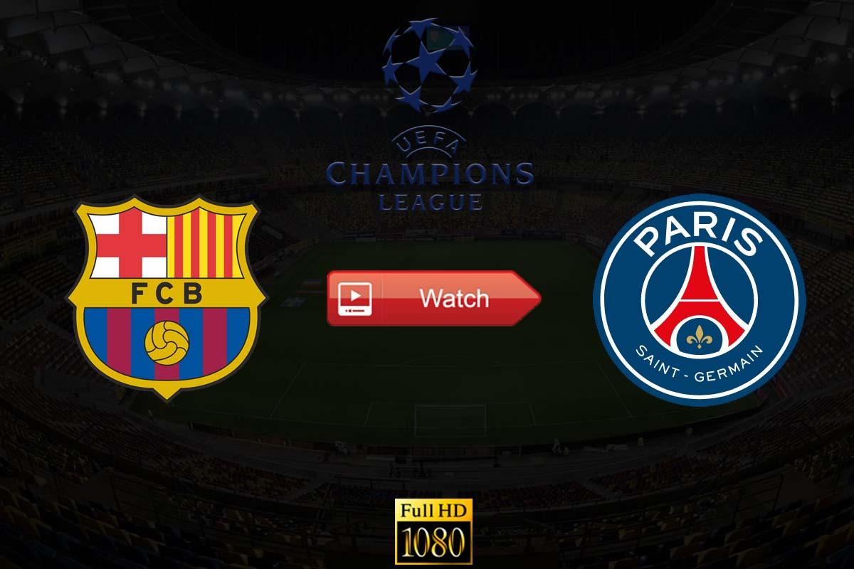 Barcelona vs PSG Live Stream Reddit