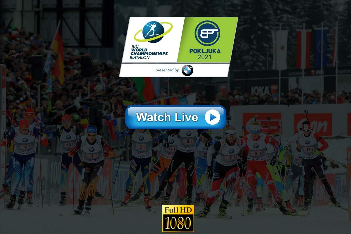 IBU Biathlon World Championships live stream Reddit