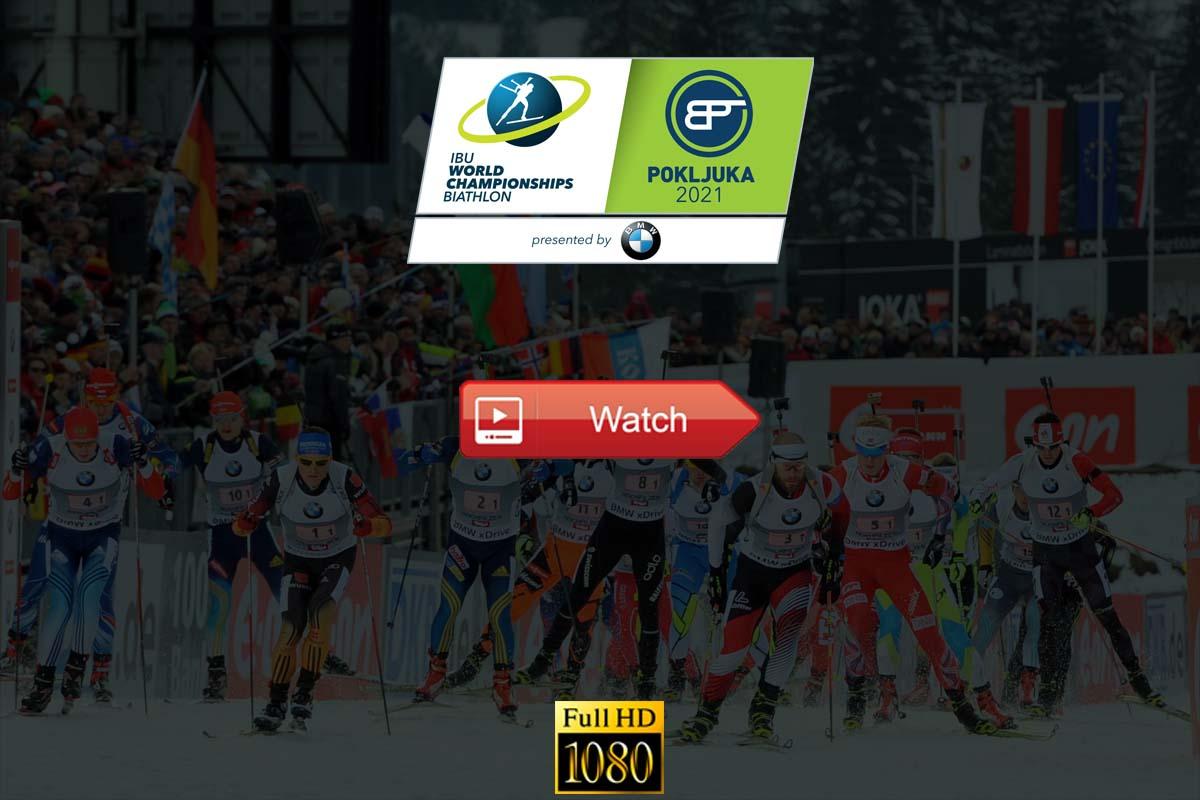 Biathlon World Championships Live Stream