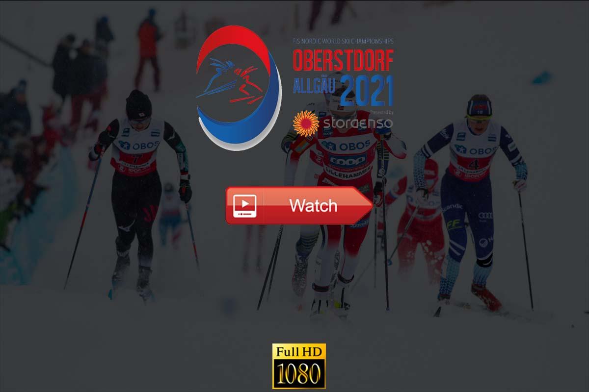 Nordic World Ski Championships live stream