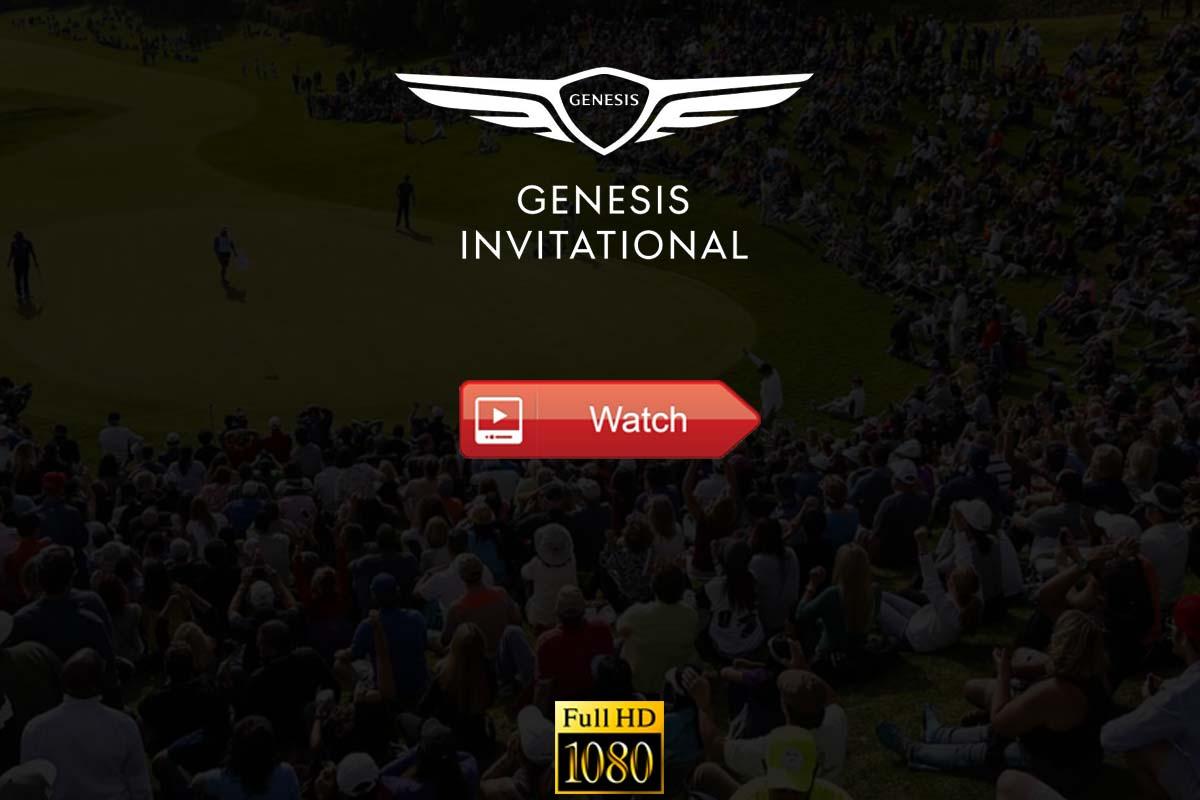 Genesis Invitational live stream Reddit