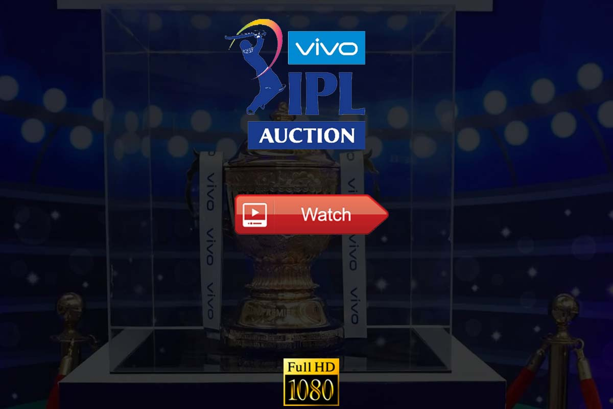 IPL Auction Live Stream