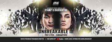 ONE: Unbreakable III Results & Recap