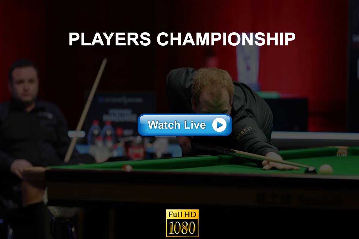 Players Championship 2021 snooker live streaming