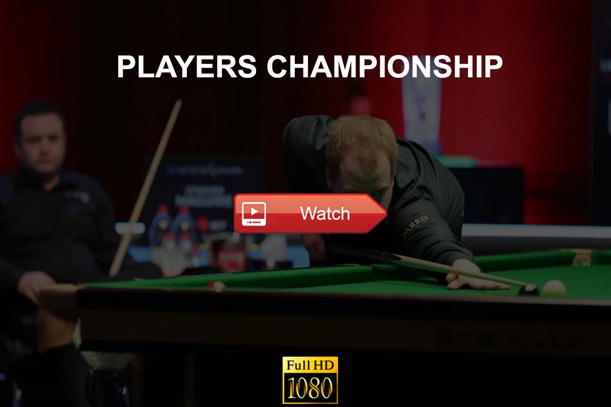 Players Championship Snooker live stream