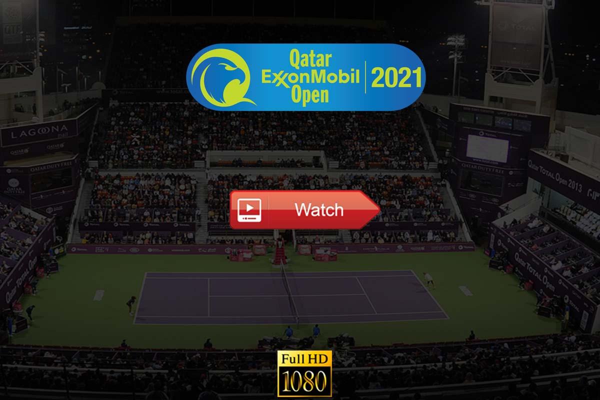 ExxonMobil 2021: Tennis Qatar Open Live Stream Reddit