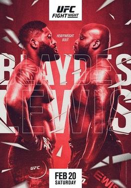 UFC Fight Night: Blaydes vs Lewis Fight Card