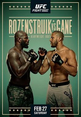 UFC Fight Night: Rozenstruik vs Gane Fighter Salaries & Incentive Pay