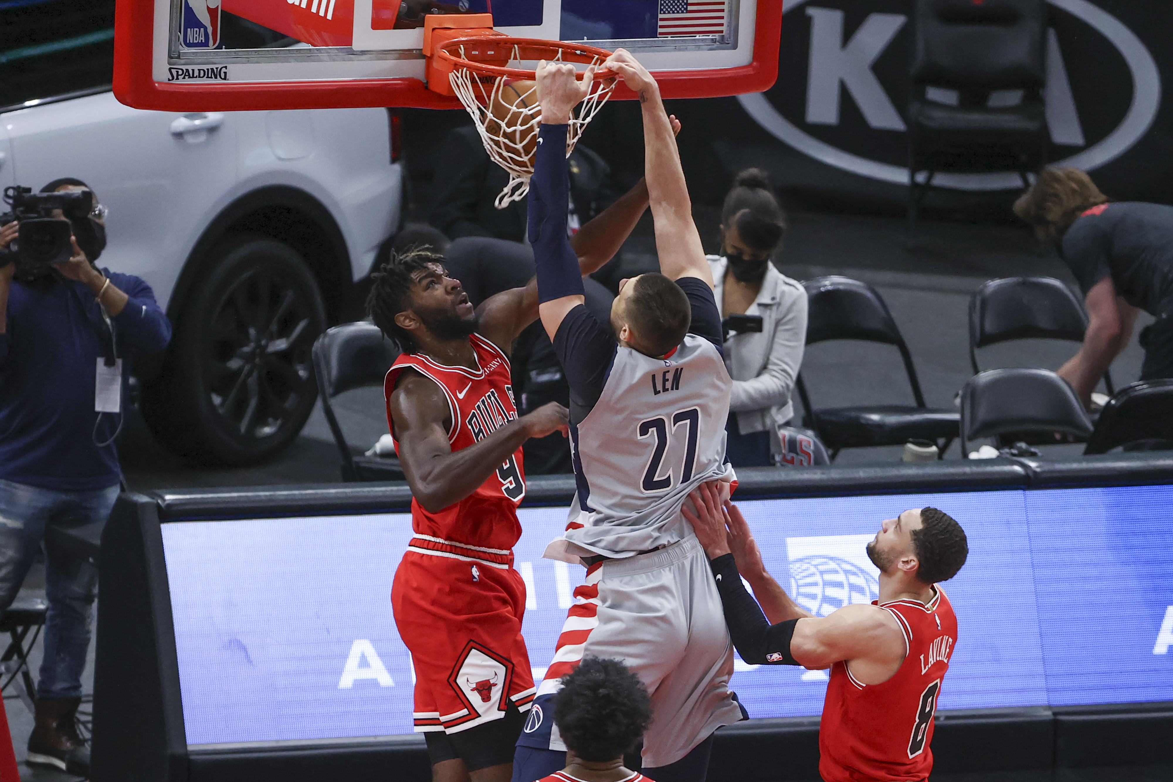 Alex Len providing Wizards with semblance of rim protection   The Sports Daily