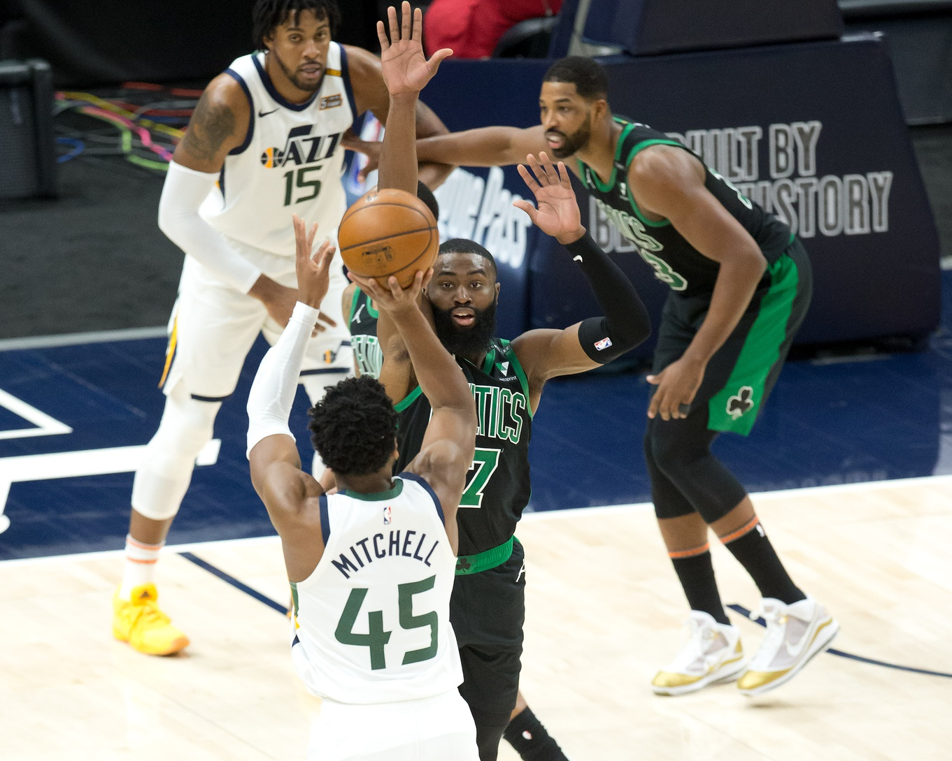 Your Morning Dump... Where the Celtics were [expletive] embarrassed in Utah