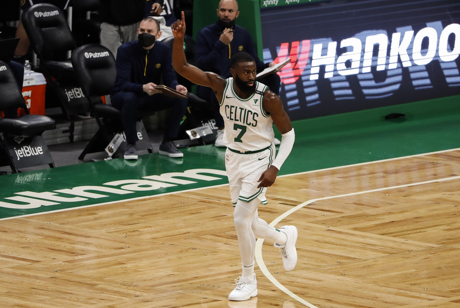 Rapid Recap: Jaylen flexes as Celtics survive Jokic explosion for much needed win