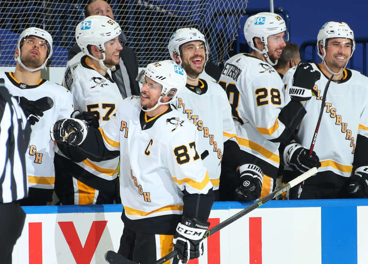 RECAP 27: Back By Popular Demand: Wins! Pens Make It 5 in a Row, Shut Out Sabres 3-0